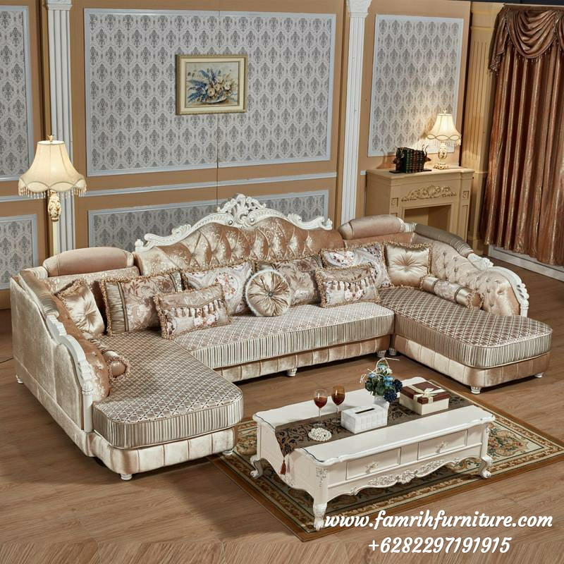 Set Sofa Tamu Ukir U