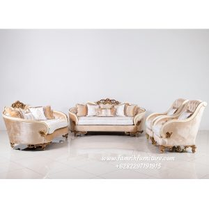 Sofa Tamu Ukir Luxury